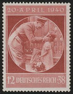 744 Hitlers Geburtstag 1940 - Marke postfrisch **