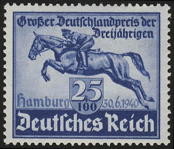 746 Das Blaue Band 1940 - Marke ** postfrisch / MNH 0