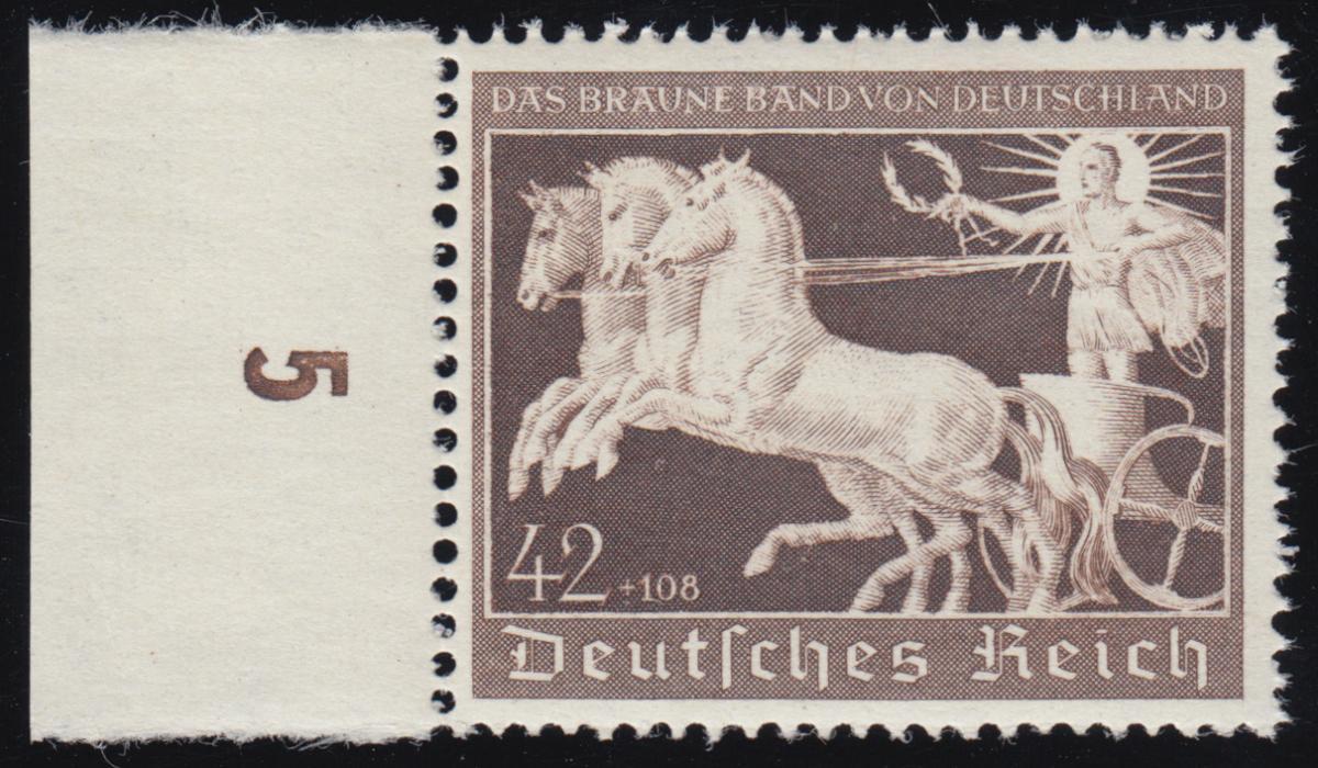 747 Das Braune Band 1940  ** postfrisch / MNH 0