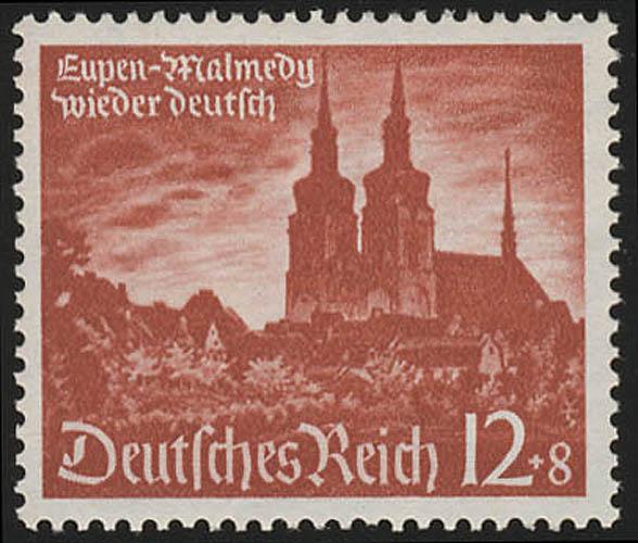 749 Wiedereingliederung Eupen 12 Pf ** 0