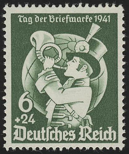 762 Tag der Briefmarke 1941 - Marke ** postfrisch 0