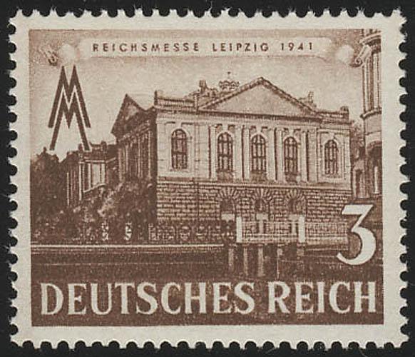 764 Leipziger Frühjahrsmesse 3 Pf, postfrisch ** 0