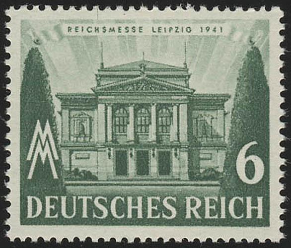 765 Leipziger Frühjahrsmesse 6 Pf ** 0