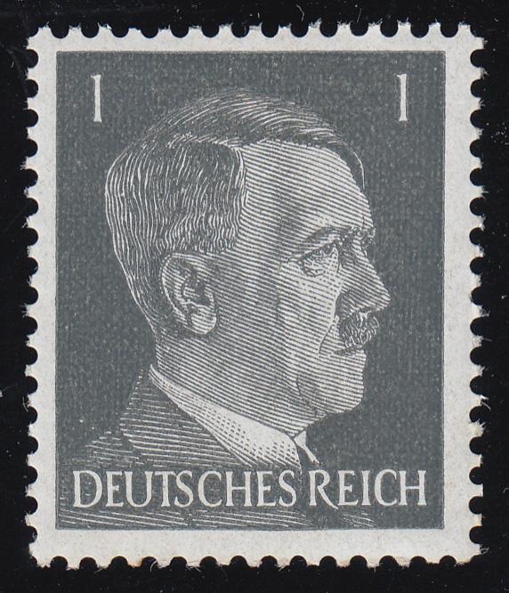 781a Hitler 1 Pf ** 0