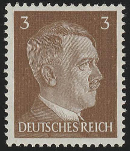 782 Hitler 3 Pf ** 0