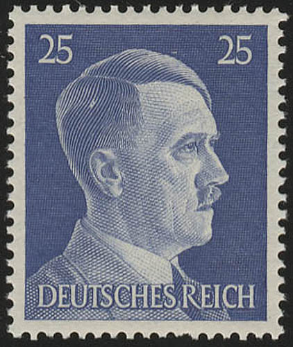 793 Hitler 25 Pf ** 0