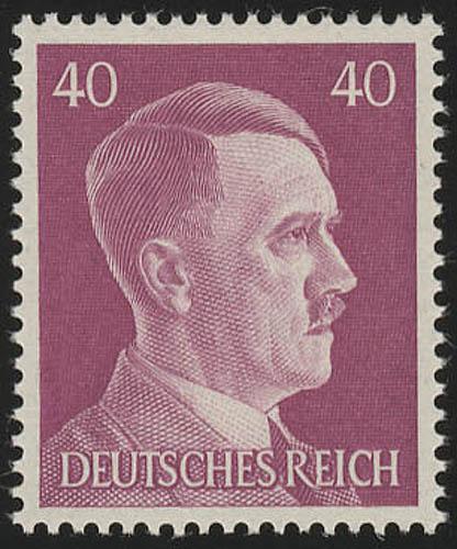795 Hitler 40 Pf ** 0