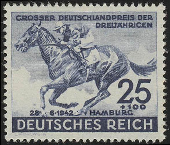 814 Das Blaue Band 1942 - Marke, postfrisch ** 0