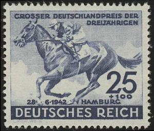 814 Das Blaue Band 1942 - Marke, postfrisch **