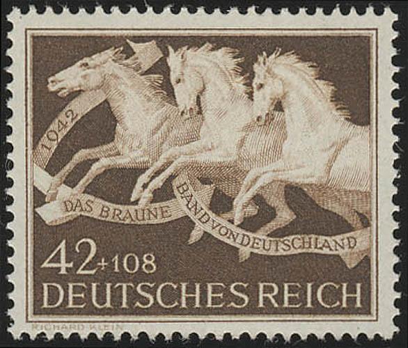 815 Das Braune Band 1942 - Marke ** 0