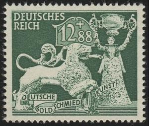 817 Gesellschaft für Goldschmiedekunst 12+88 Pf **