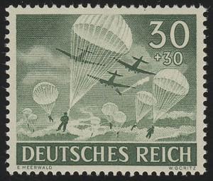 840x Tag der Wehrmacht / Heldengedenktag Fallschirmjäger 30 Pf **