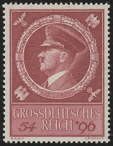 887 Hitlers Geburtstag 1944 - Marke **