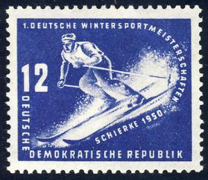 246 Wintersportmeisterschaften DDR 12 Pf **