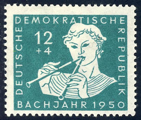256 Johann Sebastian Bach 12+4 Pf ** 0