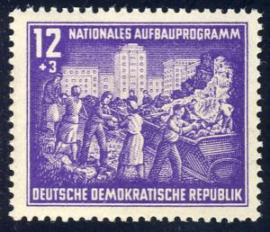 303 Nationales Aufbauprogramm Berlin 12+3 Pf **