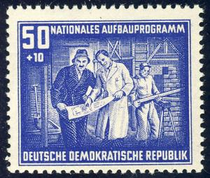 306 Nationales Aufbauprogramm Berlin 50+10 Pf **