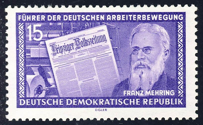 474 Franz Mehring 15 Pf ** 0