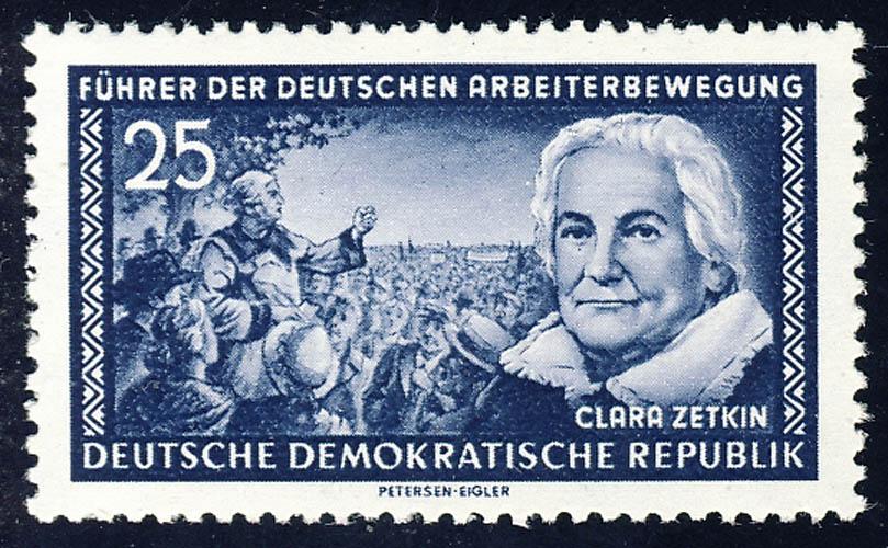 476 Clara Zetkin 25 Pf ** 0