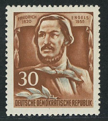 489A Friedrich Engels 30 Pf ** 0