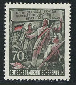 490A Friedrich Engels 70 Pf **