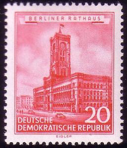 494 Historische Bauwerke 20 Pf Rotes Rathaus **
