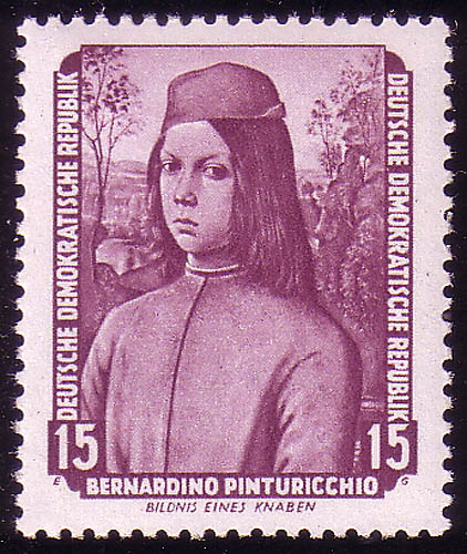 506 Gemälde 15 Pf Pinturicchio ** 0