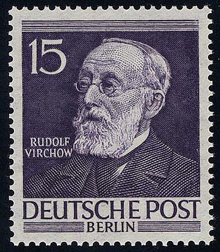 96 Virchow 15 Pf, ** 0