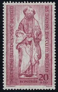 134 Bistum Berlin 20+10 Pf 1. Bischof von Rom **