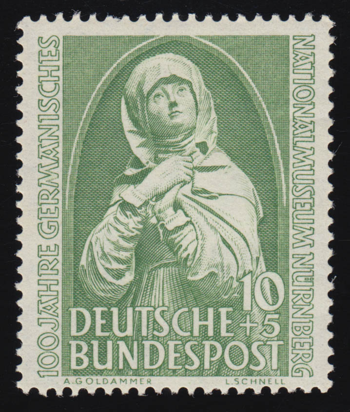 151 Germanisches Museum, ** postfrisch 0