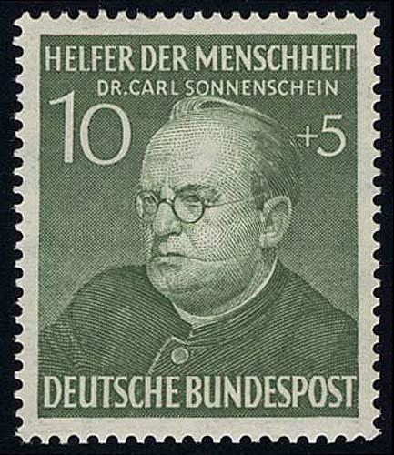 157 Carl Sonnenschein 10+5 Pf ** 0