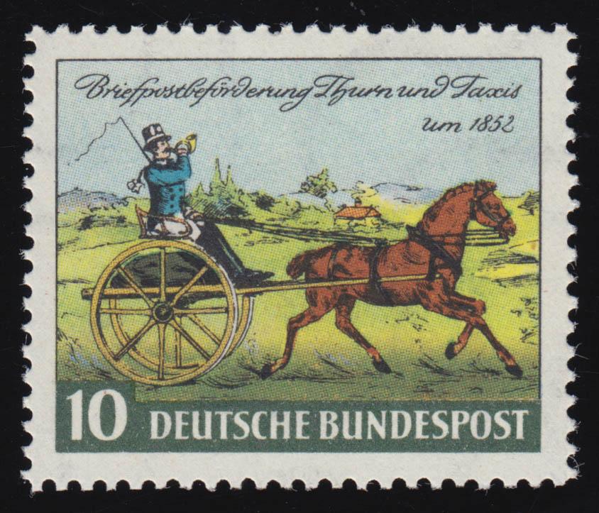 160 Tag der Briefmarke sauber ** postfrisch 0