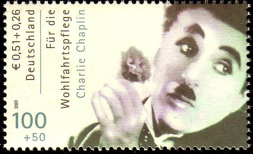 2218A Wofa Filmschauspieler Charlie Chaplin, ** 0