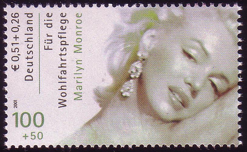 2219A Wofa Filmschauspieler Marilyn Monroe, ** 0