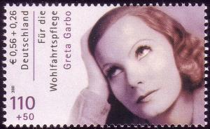 2221A Wofa Filmschauspieler Greta Garbo, **