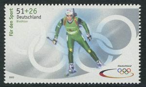 2237a Sporthilfe 51+26 C Olympiade Biathlon, **