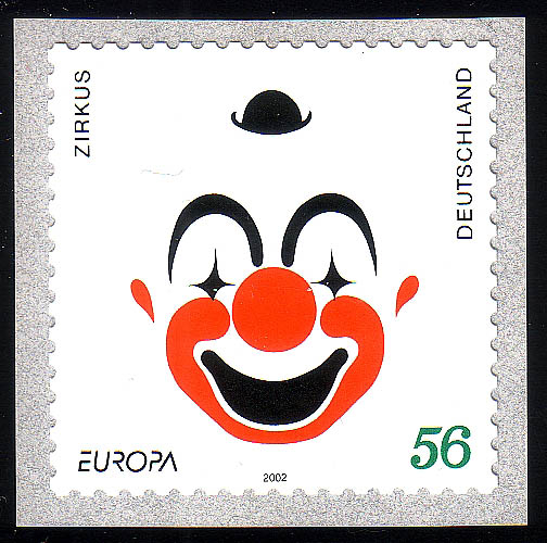 2272 Europa/CEPT Zirkus/Clown SELBSTKLEBEND ** 0
