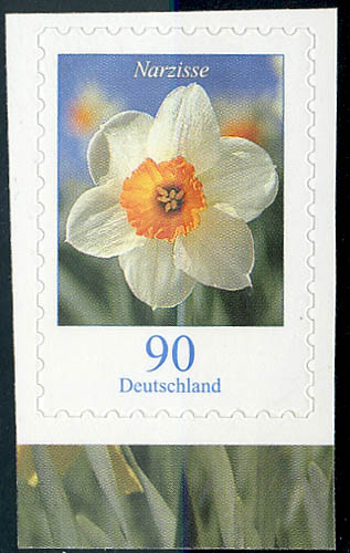 2515I Blumen 90 C SELBSTKLEBEND aus MH 61 ** 0