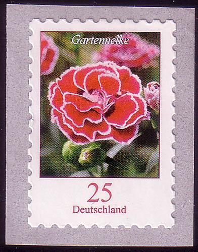 2699 Blumen 0,25 C Gartennelke SELBSTKLEBEND ** 0