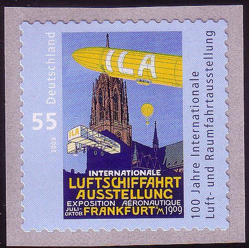 2755 ILA 2009 SELBSTKLEBEND aus Rolle, ** 0