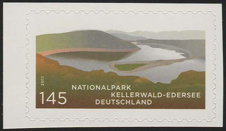 2863 Kellerwald-Edersee SELBSTKLEBEND aus Folienblatt 17 ** 0
