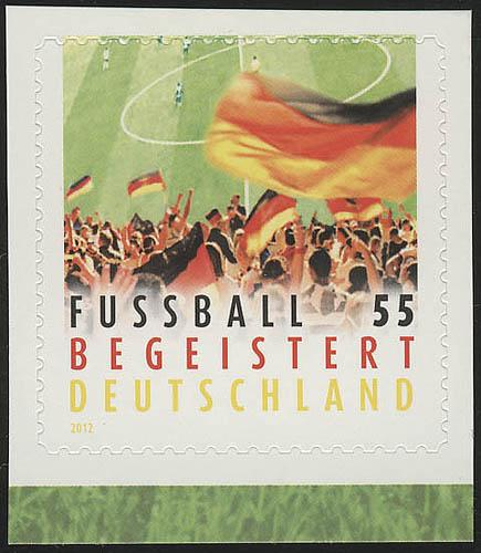 2936 Fußball SELBSTKLEBEND aus MH 88, ** 0