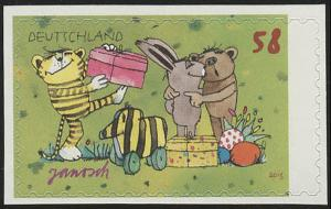 2996 Janosch: Ostern, SELBSTKLEBEND aus Folienblatt 28, **