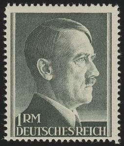 799B Hitler 1 Reichsmark ** ENG gezähnt