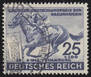 814 Das Blaue Band 1942 - Marke O