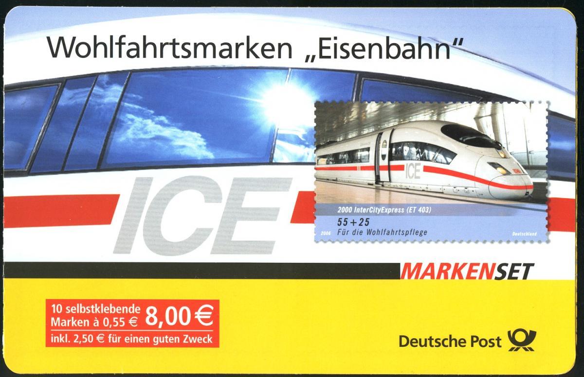 64 MH Eisenbahn, Versandstellenstempel Weiden 5.10.2006 0
