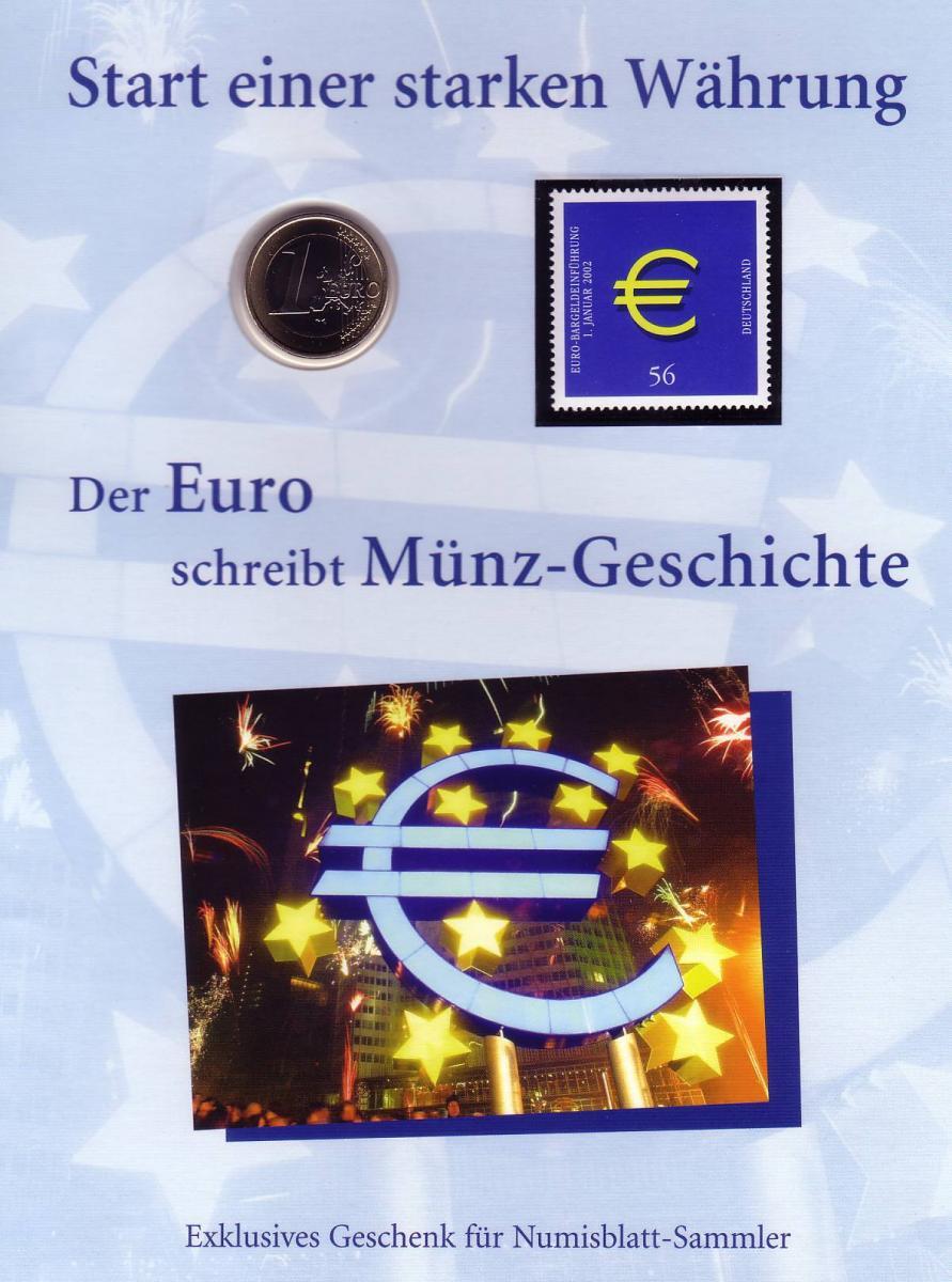 Numisblatt-Jahresgabe 2002: Start einer starken Währung 0