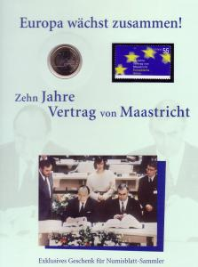 Numisblatt-Jahresgabe 2003: Europa wächst zusammen!