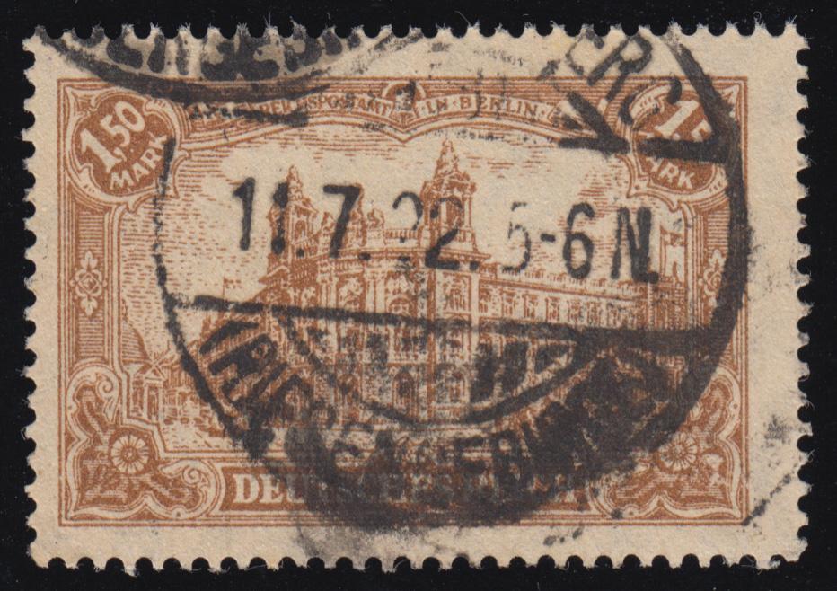114a Deutsches Kaiserreich 1,50 M O geprüft 0