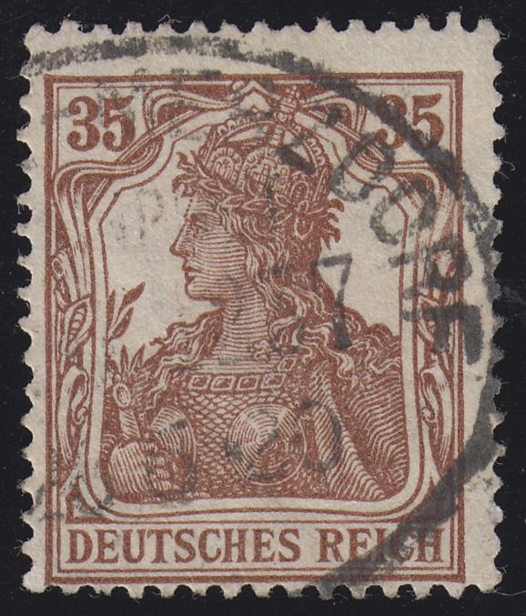103a Germania 35 Pf O 0
